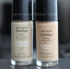 Revlon Colorstay Foundation Makeup. I love this product sooo much! It stays on my skin and doesn't dry my skin out or break me out either. I love love love it! All my fair skinned gals love it too and use 110 Ivory. :)