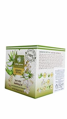 Sabaiarom Jasmine Ritual Aloe Vera Soothing Gel 353 Oz pack -- You can find out more details at the link of the image.