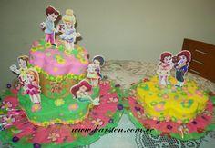 Torta Princesas y Principes Baby´s Disney