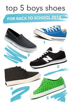 Set them up with fresh sneakers from Converse, Sperry, New Balance, Polo Ralph Lauren, and Native!