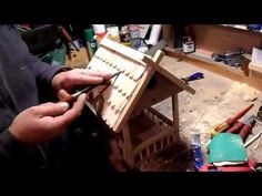 How to make a Bird House - simple woodworking project. Pallet wood. - YouTube