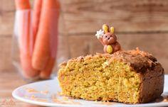 Ostern naht!  Auf www.lulia.at findet ihr das Rezept für diesen Karottenkuchen. Cake, Desserts, Food, Cake Cookies, Easter Activities, Recipes, Pie Cake, Tailgate Desserts, Pastel