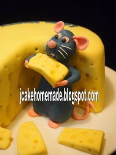 Ratatouille birthday cake