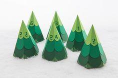 Adventskalender - DIY Tannenbaum Oh Tannenbaum Adventskalender - ein Designerstück von creatyve-design bei DaWanda