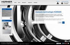 Graphic conception for the Hürner website. Web Design, Conception, Website, Technology, Design Web, Website Designs, Site Design