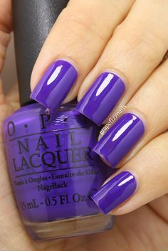 nails grape