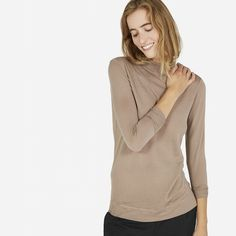 The Luxe Sweater Mockneck - Everlane