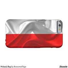 Poland, flag barely there iPhone 6 case