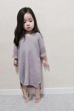 Cute Asian Babies, Asian Kids, Cute Babies, Cute Little Girls, Cute Baby Girl, Cute Kids, Mode Ulzzang, Ulzzang Kids, Baby Girl Fashion
