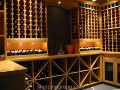 Wine Cellar Gallery - Sleeping Grape Wine Cellars Ltd. Wine Furniture, Cellar Ideas, Wine Rooms, Home Wine Cellars, Wine Cellar Design, Modern Craftsman, Wine Lover, Pantries, Wine And Beer