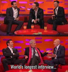 Najdłuższy wywiad na świecie