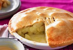 This beautiful apple pie recipe is courtesy of Weight Watchers and only has 4 ProPointsvalue per serve.