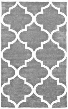 Keno Trellis Slate Rug | Contemporary Rugs in Pacific Blue (navy)