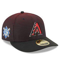 4da4e1b49b1 Men s Arizona Diamondbacks New Era Black 2018 Jackie Robinson Day Low  Profile 59FIFTY Fitted Hat