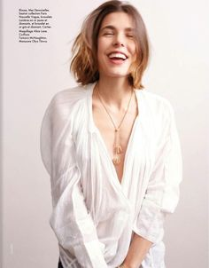 Charlotte Casiraghi by Cass Bird for Elle France May 2013 Charlotte Casiraghi, Preppy Grunge, Prince Charles And Diana, Monaco Royal Family, Princess Caroline Of Monaco, Celebs, Celebrities, Most Beautiful Women, Simply Beautiful