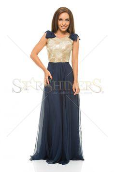 LaDonna Fashion Touch DarkBlue Dress
