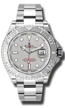 Rolex Yacht-Master Steel and Platinum (Style No: 116622 pl) from SwissLuxury.Com