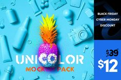 Unicolor Mockup Pack - Product Mockups