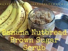recipe banana nutbread brown sugar scrub