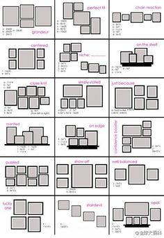 Picture Arrangements On Walls Ideas - Bing images