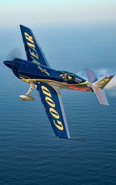 """Michael Goulian and the EXTRA 330SC are coming to Wings Over Houston. The plane is called, """"The world's most high-performance aerobatic airplane."""""""