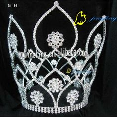 special crowns jingling crowns | pageant crowns for sale - China rhinestone and flower pageant crowns ...
