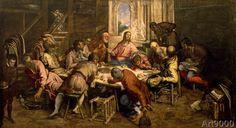 Jacopo Robusti Tintoretto - The Last Supper