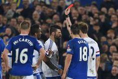 Diego Costa pide perdón y Barry le exculpa del mordisco, aunque no se libró de la tarjeta roja. Mar 13, 2016.