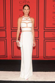 Erin Wasson on the #CFDAawards Red Carpet 2013