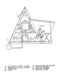 Tiny A Frame House Plans Trendy a frame tiny house floor plans, modern a frame tiny house floor plans, tiny a frame house plans, tiny a frame house plans free. Added by Admin on March 2017 at Tiny House Tiny House Blog, Tiny House Swoon, Tiny House Cabin, Shed Plans, House Plans, Garage Plans, A Frame Cabin Plans, Tiny Cabin Plans, How To Build A Log Cabin