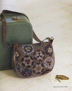 Daily Quilt Bag - Japanese Quilting Pattern Book - Yoko Saito - B1018. $30.00, via Etsy.