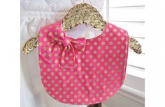 GroopDealz | Gold Polka Dot Bibs - 2 Colors!