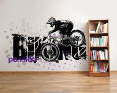 Wallpaper Sticker BIKE PASSION by Sticky!!!