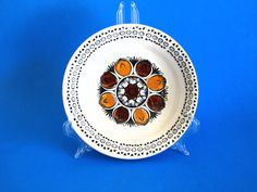 Kathie Winkle October Soup or Dessert Bowls  Vintage by FunkyKoala