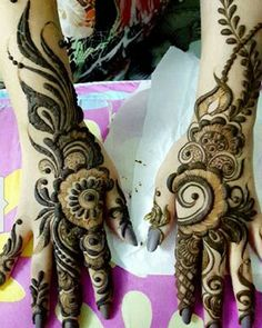 the exceptional bridal mehndi designs, elegant, royal yet simple. check out the latest mehndi collections Wedding Henna Designs, Khafif Mehndi Design, Indian Henna Designs, Mehndi Designs For Girls, Mehndi Designs For Beginners, Modern Mehndi Designs, Dulhan Mehndi Designs, Mehndi Designs For Fingers, Mehndi Design Pictures