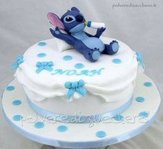 Stitch Cake tratto dal cartone Lilo & Stitch Disney Source by Torta Baby Shower, Baby Shower Cupcakes, Shower Cakes, Lilo And Stitch Cake, Lilo Und Stitch, Boy Baby Shower Themes, Baby Boy Shower, Wedding Cakes With Cupcakes, Cupcake Cakes