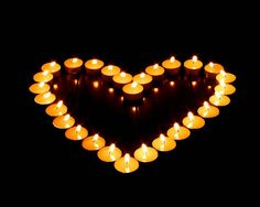 Candlelight Silent Night - Romantic Candle Light Wallpaper - Lit Candles in Heart Shape - Romantic Candle Light Photos 4 My Funny Valentine, Valentines Day, Dad In Heaven, Romantic Candles, Romantic Ideas, Romantic Night, Romantic Things, I Love Heart, Heart Pics