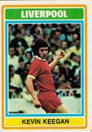 Mum and me were big fans of Liverpool during mid 70s glory days. Aloud to stop up for Match of the Day. Remember Whitey always had the biggest pile of football cards at school. Tough to get him to swap though...