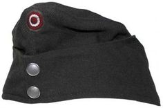 Austrian Military Cap with Badge - GREY is a great item for Decoration, Collecting, Halloween Costumes, Plays or unique wear!