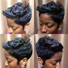 Cute! - http://www.blackhairinformation.com/community/hairstyle-gallery/relaxed-hairstyles/cute-9/ #relaxedhairstyles