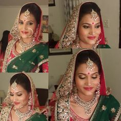 Indian Bridal Makeup & Bridal Hairstyles   Pictures & Ideas