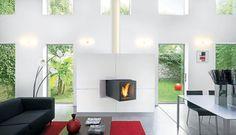 +30 Chimeneas de diseño #chimeneas #ideas #tips #idea #chimenea #diseño #original #moderna #modernas #diseño #hogar #home #design #interior #decor #decoracion #decorar