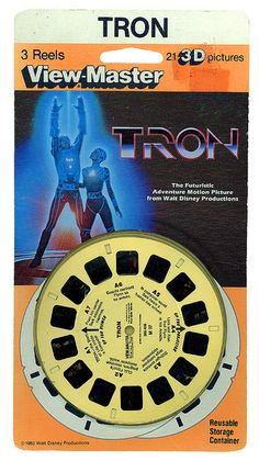 Tron on Viewmaster Retro Toys, Vintage Toys, 3d Pictures, Photos, View Master, Master Art, Adventure Film, Retro Video Games, Classic Toys
