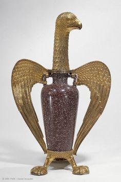 Porphyry vaseVase: Egypt or imperial RomeMount: Saint-Denis, prior to 1147 Treasury of the abbey of Saint-Denis