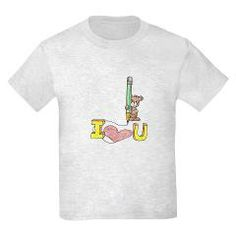 I Heart U Kids T-Shirt Children's Apparel Sam's Menagerie