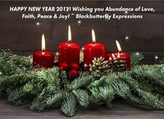 Happy New Year 2017 ~ Blackbutterfly Expressions