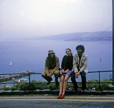 New Quai, on the Irish Sea in Wales, with Kaybor Thomas and Maggie