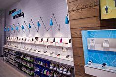 Hi Store Phone Accessories & Repair Service Shop Design to South Africa - m2display.com