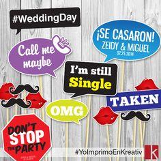 Letreros para boda #WeddingProps