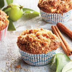 17 Easy Muffin Recipes To Bake This Weekend Quick Apple Dessert, Healthy Apple Desserts, Apple Snacks, Easy Desserts, Dessert Recipes, Yummy Recipes, Muffin Recipes, Apple Recipes, Baking Recipes